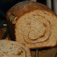 Rustic Wheat Cinnamon Raisin Bread
