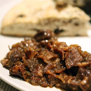 Coffee-Braised Bison Stew