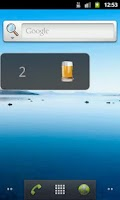 Screenshot of Drink Counter Widget