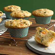 Apricot-Pistachio Muffins Baked on the Grill