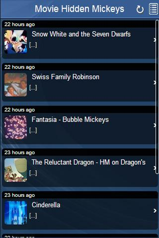 Disney Movies Hidden Mickeys