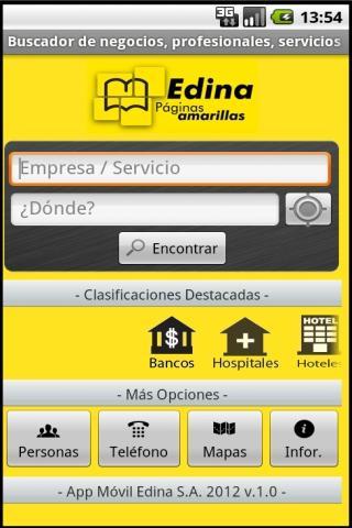 Ecuador's Yellow Pages