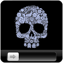 Flower Skull GO Locker icon
