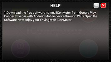 Screenshot of iConMotor