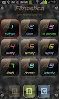 Screenshot of Fitnastica Exercise Counter