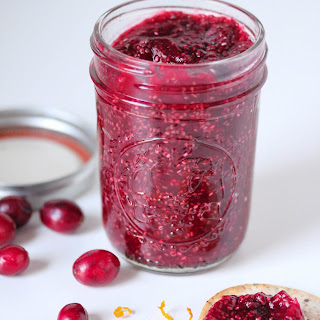 Cranberry Orange Chia Seed Jam