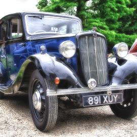 Old Morris by Dez Green - Transportation Automobiles ( automobiles, old car, vintage, morris, cars, historic )