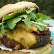 Lea & Perrins Bacon and Cheese Burgers