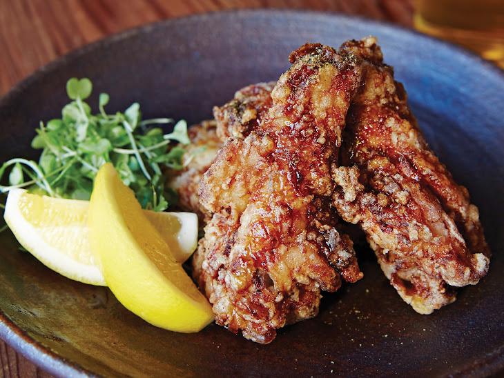 Japanese-Style Chicken Wings (Teba No Karaage) Recipe | Yummly