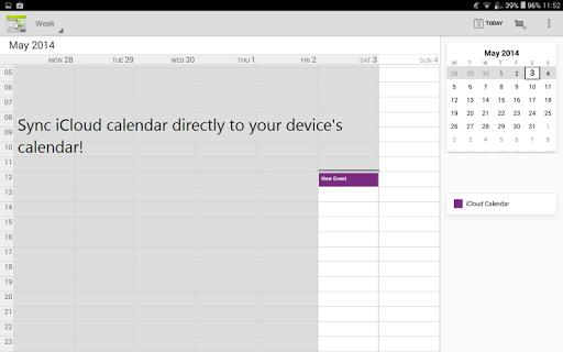 Sync for iCloud - screenshot