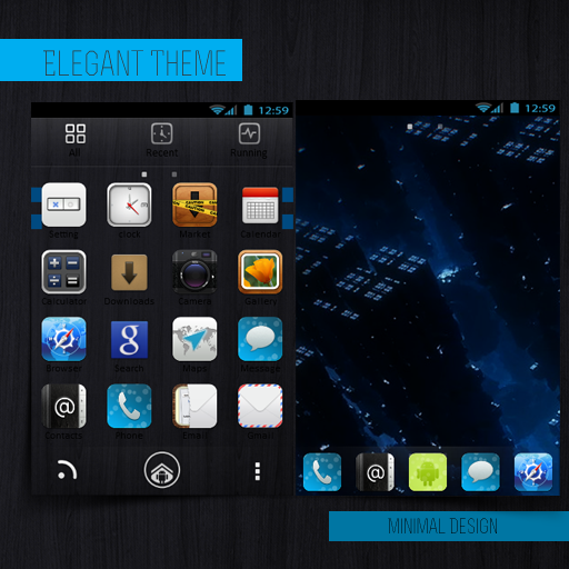 Go Elegant Minimalistic 個人化 App LOGO-硬是要APP