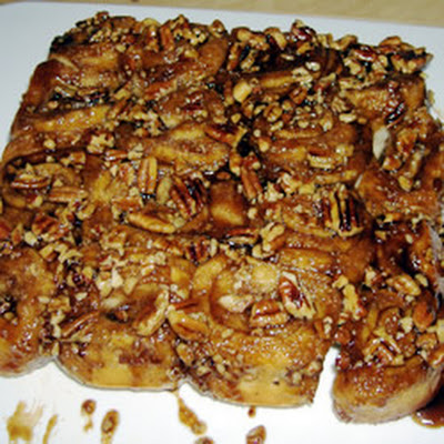 Grandmother Stougaard's Caramel Pecan Sweet Rolls