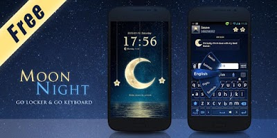 Screenshot of (FREE)NIGHT MOON GO BIG THEME
