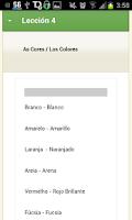Screenshot of Curso de Portugues