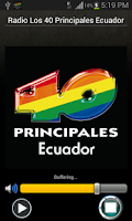 Screenshot of Los 40 Principales Ecuador