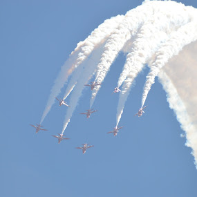 Rolling over by James Booth - Uncategorized All Uncategorized ( red arrows, cyprus )
