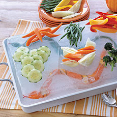 Snake-in-the-Lake Dip and Crudités