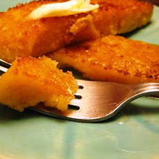 Buttery Breakfast Fried Polenta Slices