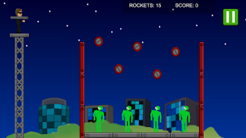 Screenshot of Alien Bazooka Demo