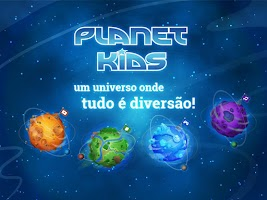 Screenshot of PLANET KIDS
