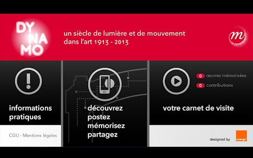 Dynamo, application officielle - screenshot