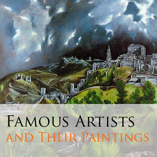 Famous Paintings & Artists LT 教育 App LOGO-APP開箱王