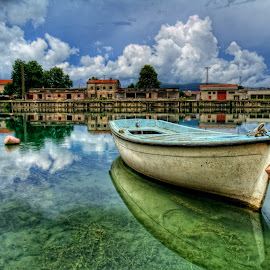 by Stjepan Jozepović - Transportation Boats ( hdr, waterscape, boat, river )