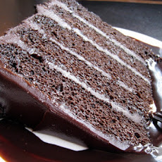 Fudgy Chocolate Birthday Cake