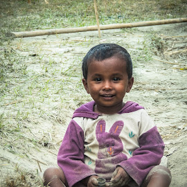 Smile Always Happy by Topu Saha - Babies & Children Babies ( happiness, kids, smile, people, babu )