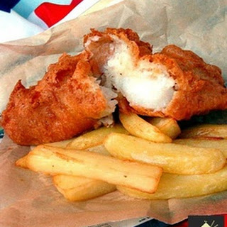 British Beer Battered Fish & Chips