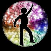 Disco Licht Live-Hintergrund