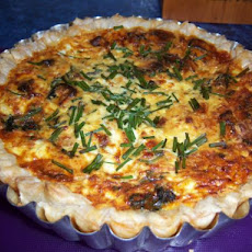 Sweet Potato and Salmon Quiche