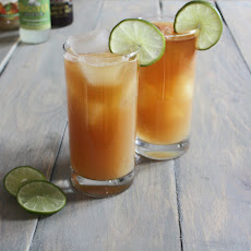 Vanilla-Infused Pear Dark n' Stormy
