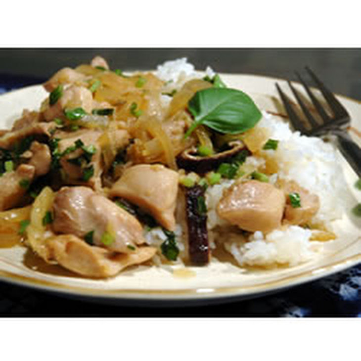 Thai Chicken with Basil Stir Fry