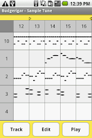 Screenshot of Budgerigar - Midi Sequencer