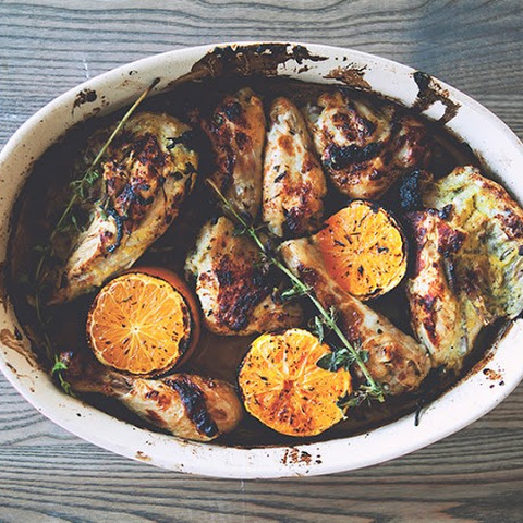 A Cuban-Inspired Mojo Roasted Chicken