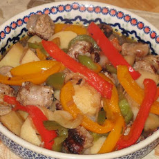 Sausage, Peppers, and Potatoes