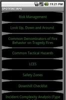 Screenshot of IRPG–NWCG Wildland Firefighter