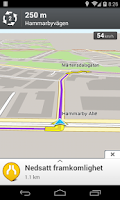 Screenshot of Telia Navigator