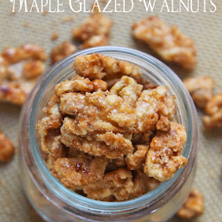 Maple Glazed Candied Walnuts