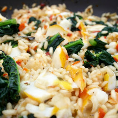 Smoked Haddock Risotto With Cavolo Nero
