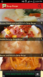 Healthy Soup Recipes - screenshot