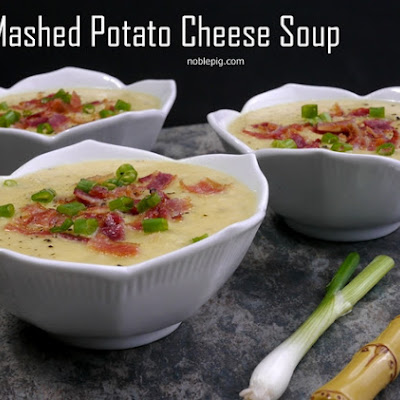Mashed Potato Cheese Soup