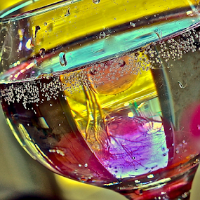 by Diana Margan - Artistic Objects Glass ( champagne glasses )