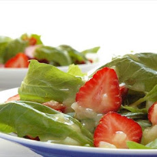 Best Ever Summer Strawberry Spinach Salad