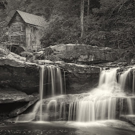 old mill by Stevan Tontich - Black & White Landscapes