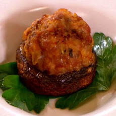 Pork and Pancetta Stuffed Mushrooms