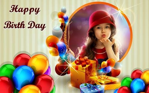 Happy Birthday Frames Free Photo
