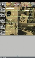 Screenshot of GO SMS THEME/vintagevariety