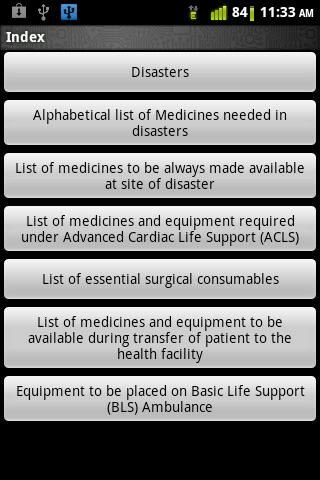 Medicines for Disasters